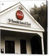 The Burnside General Store Acrylic Print by Scott Pellegrin