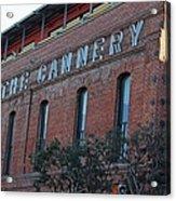 The Cannery Acrylic Print