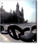 The Chain In Spain Acrylic Print
