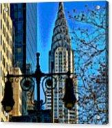 The Chrysler Building Acrylic Print