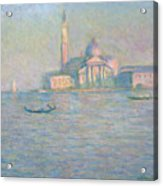 The Church Of San Giorgio Maggiore Acrylic Print