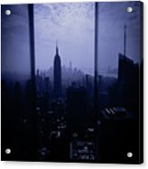 The City Below Acrylic Print