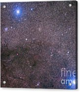 The Coalsack And Jewel Box Cluster Acrylic Print
