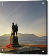 The Commando Memorial, Spean Bridge Scotland 1 Acrylic Print
