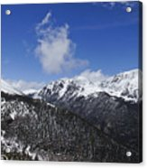 The Continental Divide Acrylic Print