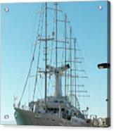 The Cruise Ship 'wind Surf' Acrylic Print