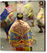 Pow Wow The Dance 4 Acrylic Print