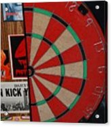 The Dart Board Acrylic Print