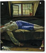 The Death Of Chatterton Acrylic Print