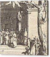 The Death Of Judas Acrylic Print