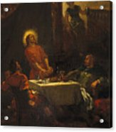 The Disciples At Emmaus Acrylic Print