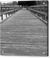 The Dock Acrylic Print