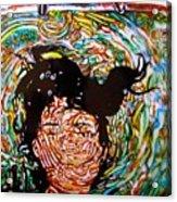 The Drowning Artist Acrylic Print