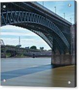 The Eads Bridge Acrylic Print