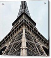 The Eiffel Tower In Paris Acrylic Print