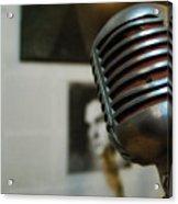 The Elvis Mic Acrylic Print by JAMART Photography