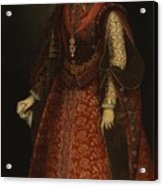 The Empress Isabel Of Portugal Acrylic Print