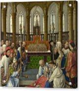 The Exhumation Of Saint Hubert Acrylic Print