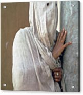 The Faceless Woman Acrylic Print