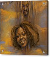 The Faces Of God Acrylic Print by Gary Williams
