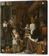 The Feast Of St. Nicholas Acrylic Print
