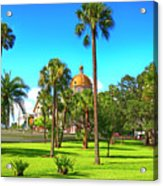 The First Baptist Church Of Tampa  Acrylic Print