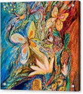 The Flowers And The Fruits Acrylic Print