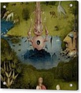 The Garden Of Earthly Delights Left Wing - Paradise Hieronymus Bosch Acrylic Print