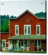 The General Store Acrylic Print