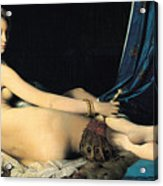 The Grand Odalisque Acrylic Print