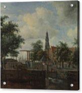 The Haarlem Lock Amsterdam Acrylic Print