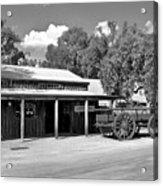 The Heritage Town Of Echuca Victoria Australia Acrylic Print