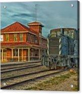 The Historic Santa Fe Railroad Station Acrylic Print