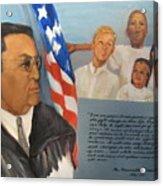 The Honorable Amos T. Hall Acrylic Print