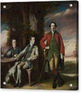 The Honorable Henry Fane With Inigo Jones And Charles Blair Acrylic Print