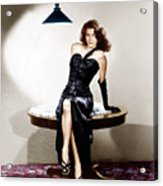 The Killers, Ava Gardner, 1946 Acrylic Print