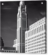 The Leveque Tower Of Columbus Ohio Acrylic Print