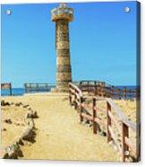 The Lighthouse In Salinas, Ecuador Acrylic Print