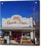 The Likely General Store - California  Acrylic Print