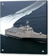 The Littoral Combat Ship Independence Acrylic Print
