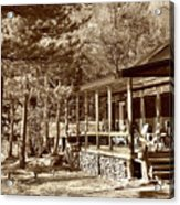 The Lodge Acrylic Print