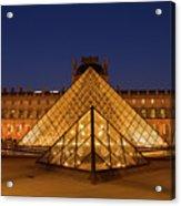The Louvre Art Museum Acrylic Print