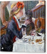 The Luncheon Of The Boating Party Acrylic Print