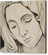 The Madonna Acrylic Print