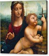 The Madonna Of The Yarnwinder Acrylic Print