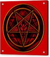 The Magick Circle Acrylic Print
