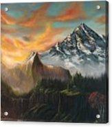 The Majestic Mountain Acrylic Print