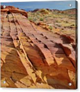 The Many Colors Of Valley Of Fire Acrylic Print