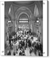 The Metropolitan Museum Of Art Acrylic Print