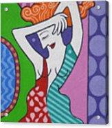 The Mirror. Acrylic Print